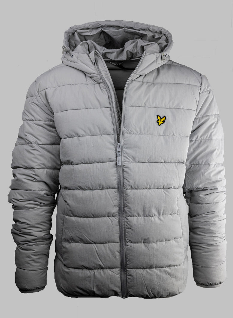 Lyle & Scott JK1317V Men's Grey Fog Jacket for sale online ireland