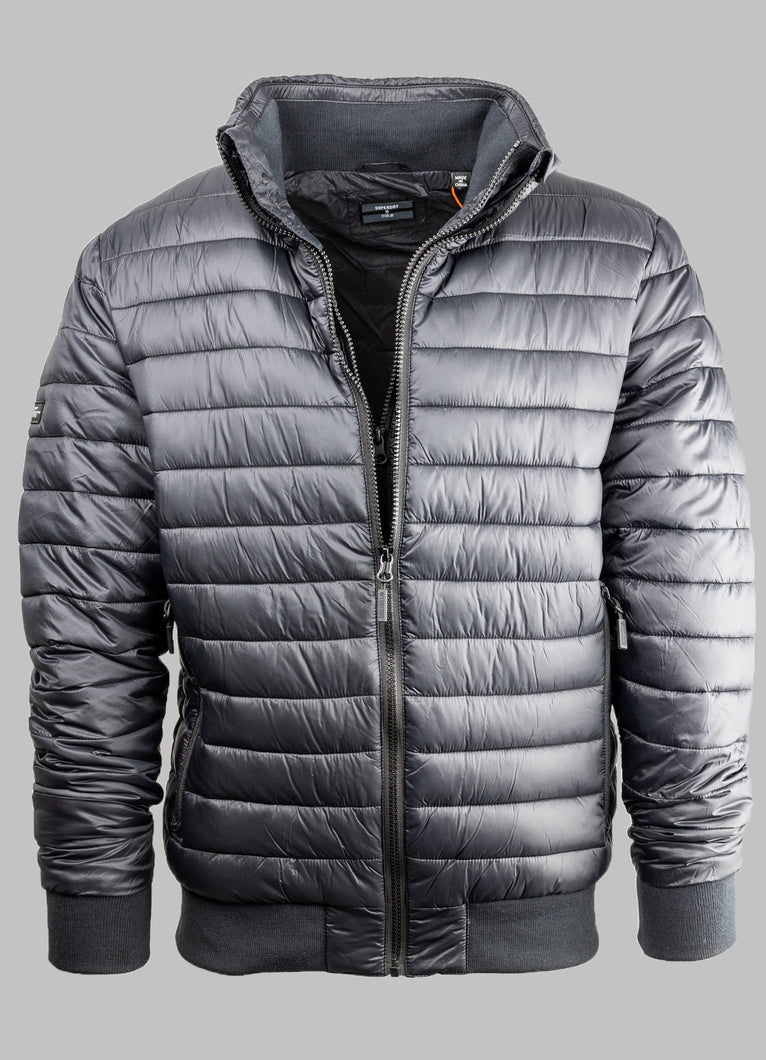 Superdry Black Casual Puffer Mens Jacket M5010315A for sale online ireland