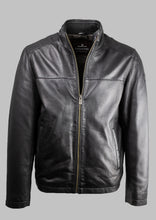 Load image into Gallery viewer, Ron Milestone Black Leather Jacket for sale online ireland