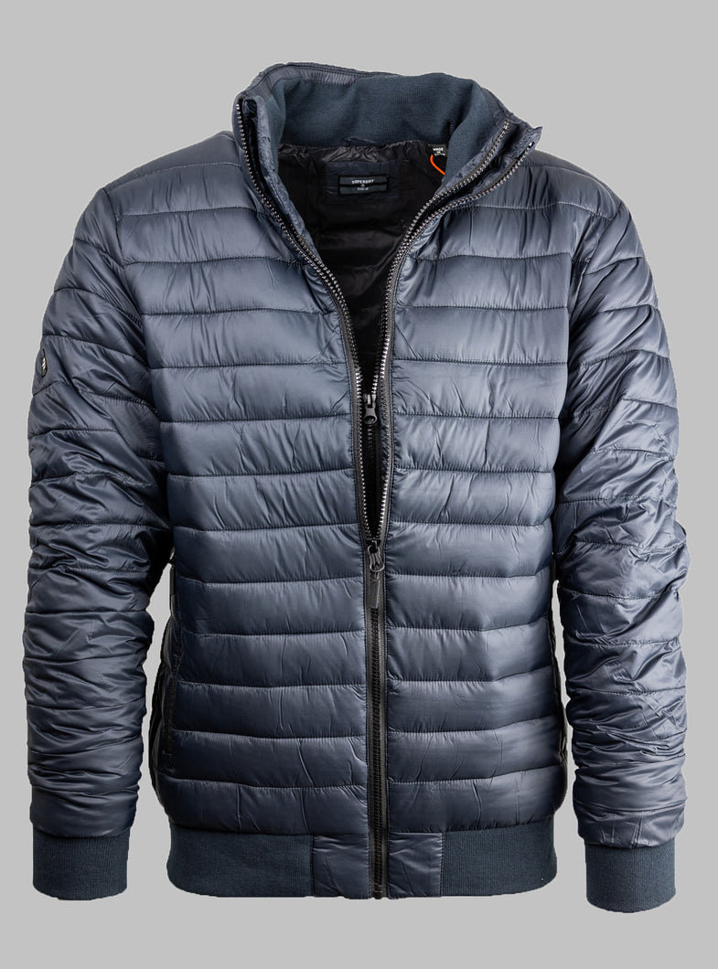 Superdry M5010315A | Double Zip Puffer Jacket
