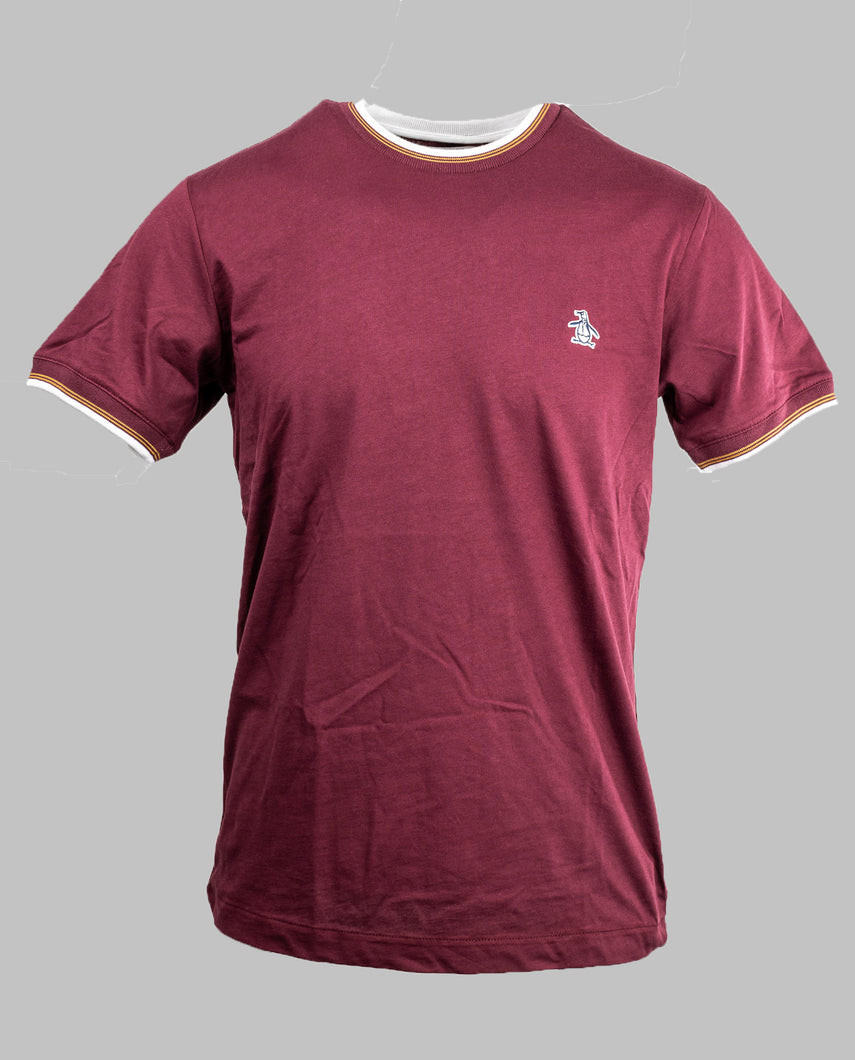 Penguin Tawny Port Ringer T-Shirt OPKF0718 608 for sale online ireland
