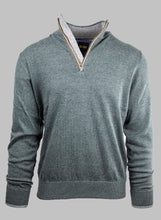 Load image into Gallery viewer, 6th Sense Esra | 1/2 Zip Knit with Contrast Collar