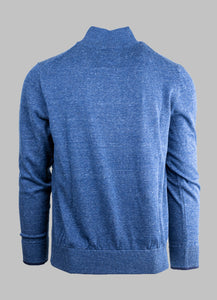 6th Sense Esra | 1/2 Zip Knit with Contrast Collar