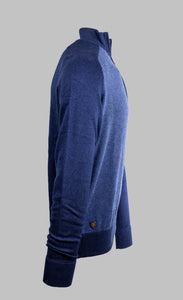 6th Sense KT Ivan | 1/2 Zip Knit with Navy Contrast
