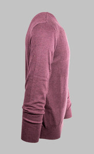 Baileys 208209 | Crew Knit with Textured Square Design