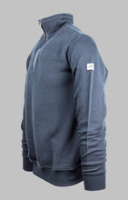 Load image into Gallery viewer, Baileys Navy 1/2 Zip Knit 203198 for sale online ireland