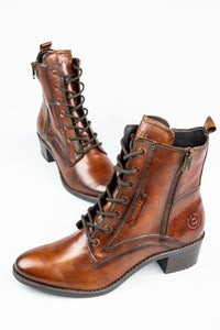 Bugatti 411-5623I-4100 | Lace & Zip Ladies Boots