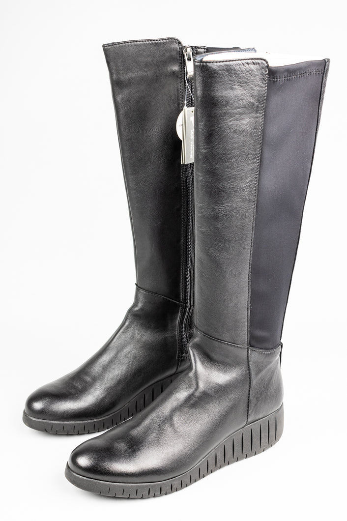 Marco Tozzi Black Knee High Boots 2.2.25614 for sale online ireland