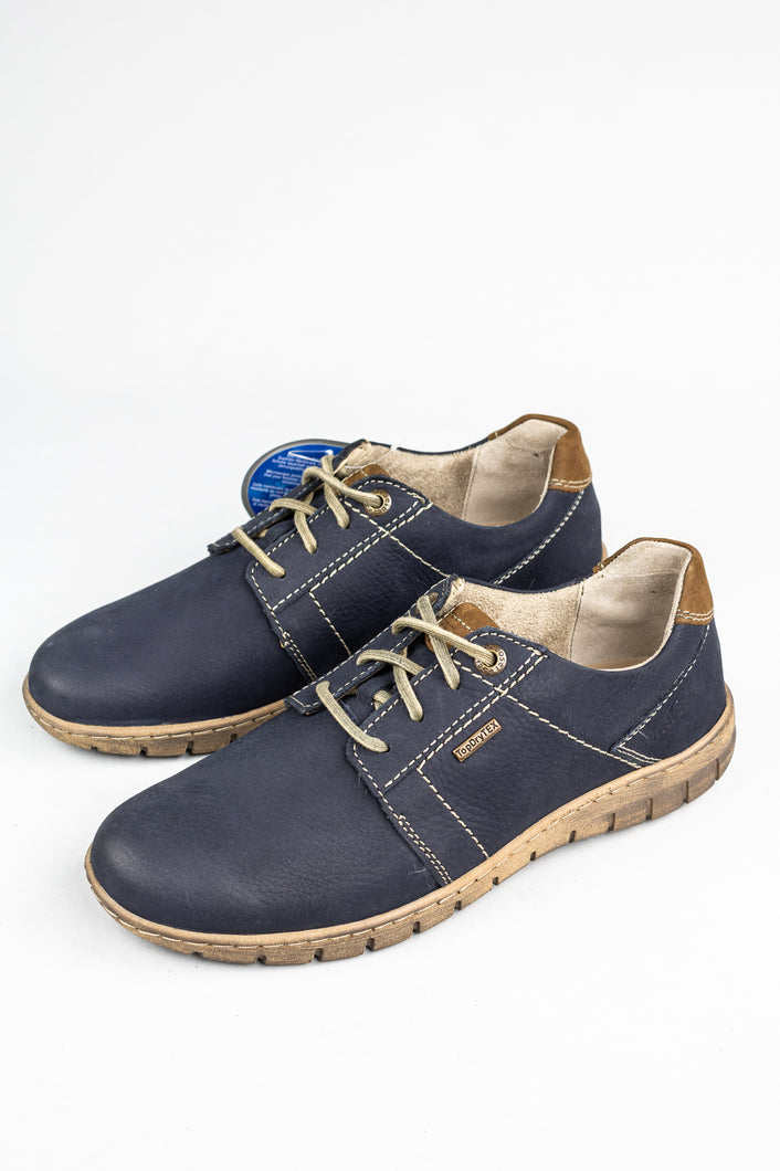 Josef Seibel Steffi 59 | Lace-Up Shoes in Navy Blue