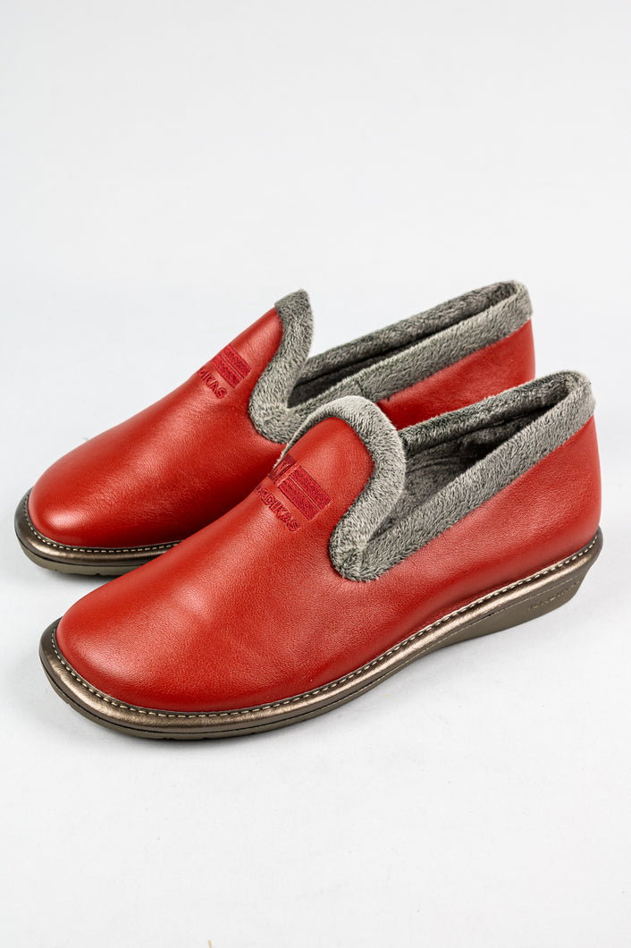 Nordikas Dublin | Warm Ladies Leather Slippers