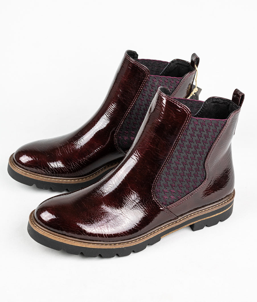 Marco Tozzi 25422 | Slip On Elasticated Boots