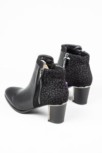 Lotus Athena | Print Detailed Ankle Boot