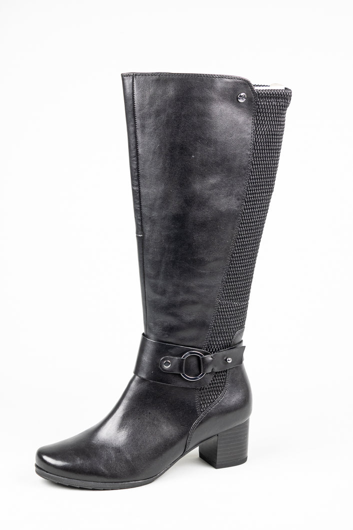 Caprice 25526 Black Knee High Boots for sale online ireland