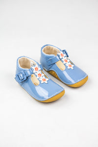Clarks Girls Prewalker Shoe Tiny Flower Toddler mid blue for sale online Ireland