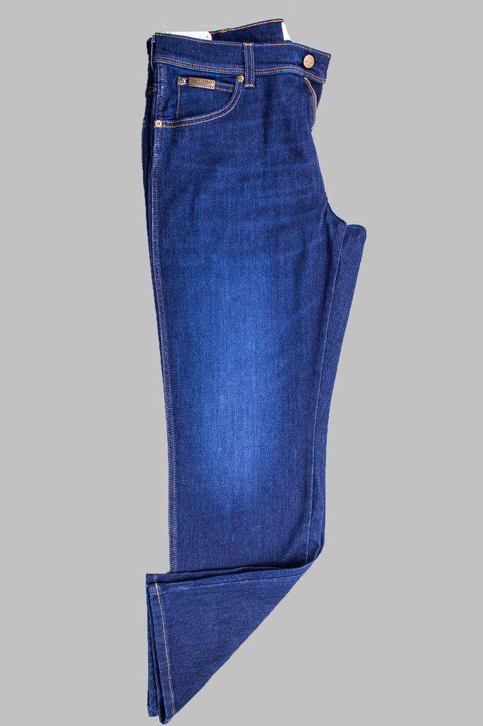 Wrangle Texas Straight Fit Blue Jeans W121Q44OP for sale online Ireland