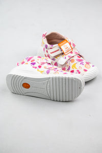 Biomecanics Girls Double Velcro Shoe in White Print 212210 for sale online Ireland