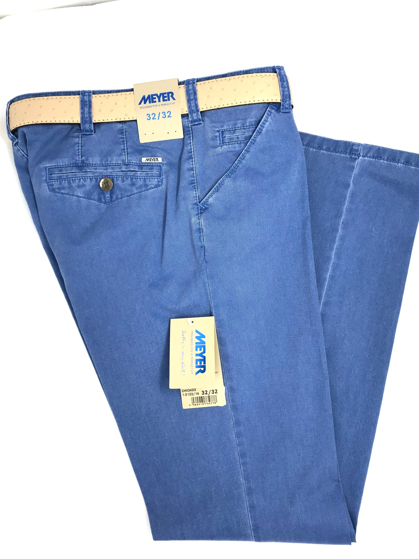 Meyer | Chicago Blue Men's Trousers