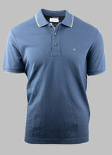 Load image into Gallery viewer, Calvin Klein Dark Denim Blue Stretch Polo Shirt K10K105939 CEC for sale online Ireland