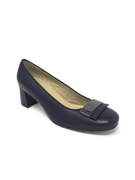 12.35512 Ara Cuban Block Heel Office Court Shoes for sale online ireland navy