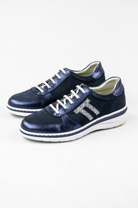 Notton Superflex Blue Leather Trainers 3207 for sale online Ireland
