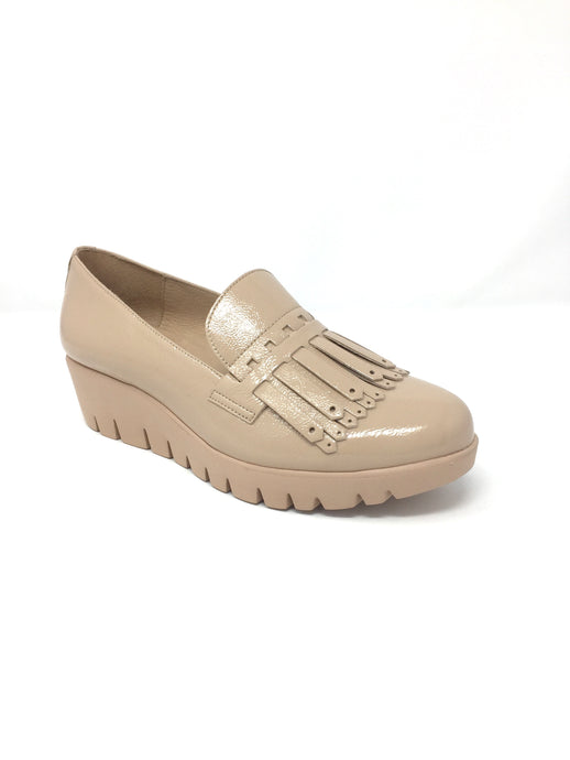 C-33207_2024 Wonders Ladies Leather Moccasin Loafer for sale online ireland nude