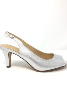 Metallic Larissa Sling-back Shoes