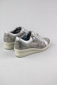 IMac Low Wedge Trainers in Grey 706320 for sale online Ireland