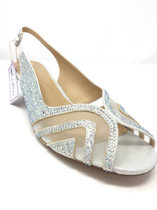 Glinda Sling-Backs with Gemstone Detailing