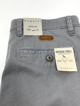 Load image into Gallery viewer, 4640 56563/390 Bugatti Regular Fit Mens Chinos grey for sale online ireland