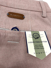 Load image into Gallery viewer, 4890 56311/940 Bugatti Modern Fit baby Pink mens Chinos for sale online ireland