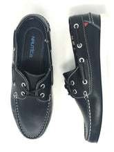 Load image into Gallery viewer, Snug | Navy Martha Deck School Shoe