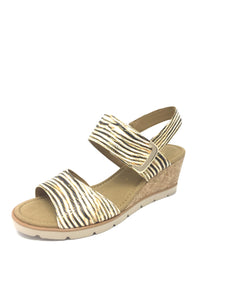 Gabor | Ladies Wedge Sandal With Statement Buckle
