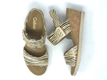 Load image into Gallery viewer, Gabor | Ladies Wedge Sandal With Statement Buckle