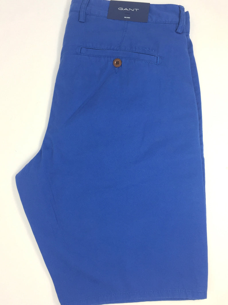 20011 Gant Men's Chino Shorts blue for sale online ireland