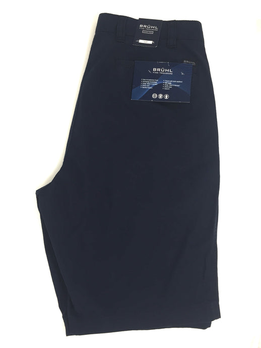 181710 Bruhl Men's Navy Chino Shorts (In Big Sizes) for sale online ireland