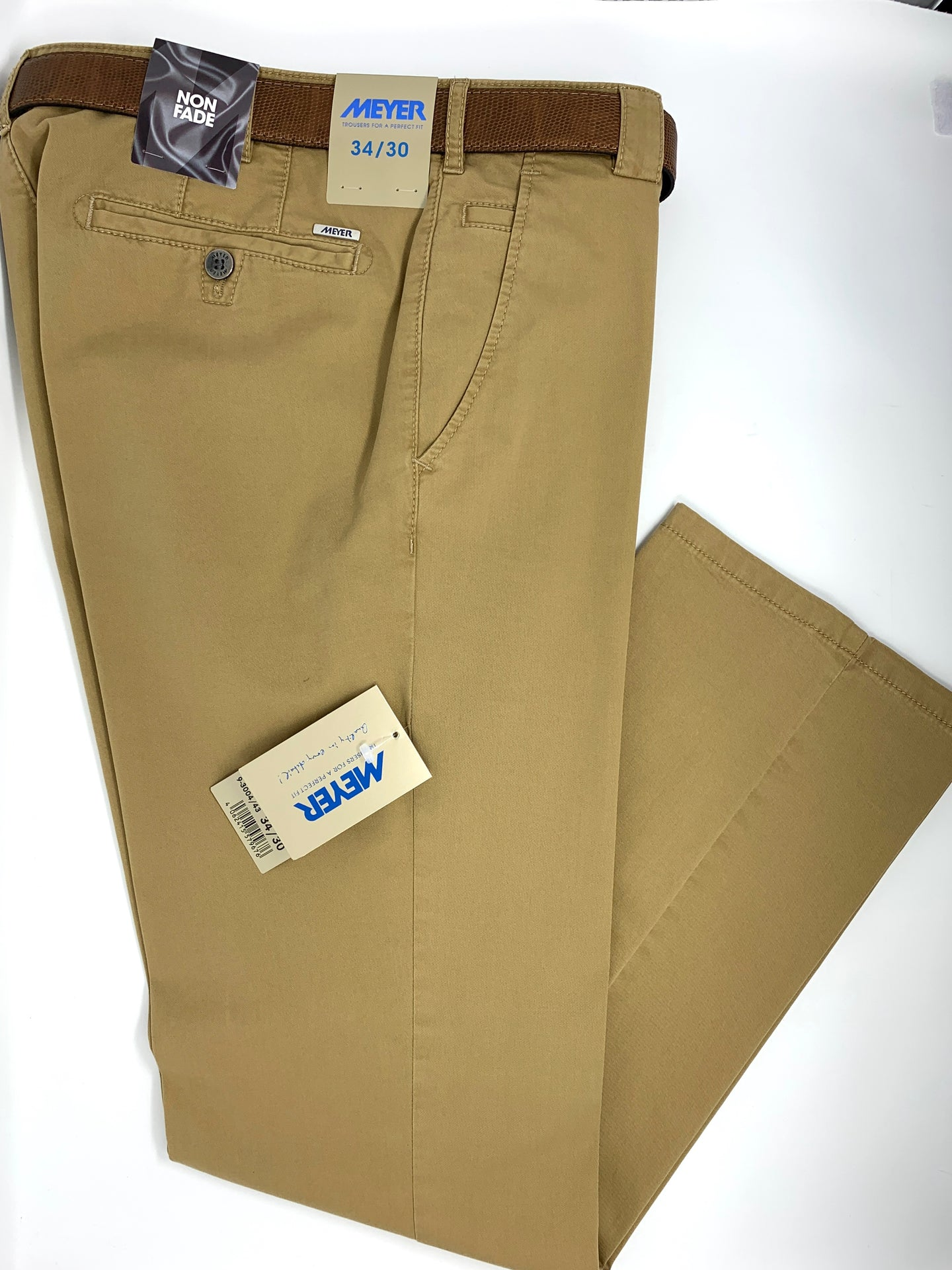 3004-43 Roma Meyer Mens Trousers chino for sale online ireland beige big sizes