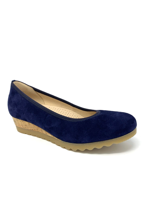 42.641 Gabor Ladies Closed To Wedge Shoes for sale online ireland blue