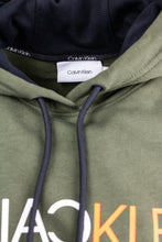 Load image into Gallery viewer, Calvin Klein K10K106404 Green Hoody for sale online ireland