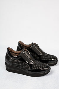 Marco Moreo L500 | Printed Wedge Zip Shoe