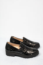 Load image into Gallery viewer, M1803T-CCC Jose Saenz Black Leather Slip On Shoe for sale online ireland