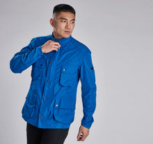 Load image into Gallery viewer, MCA0545BL53 Barbour International Electric Blue Weir Casual Men's Jacket for sale online ireland