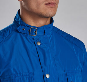 MCA0545BL53 Barbour International Electric Blue Weir Casual Men's Jacket for sale online ireland