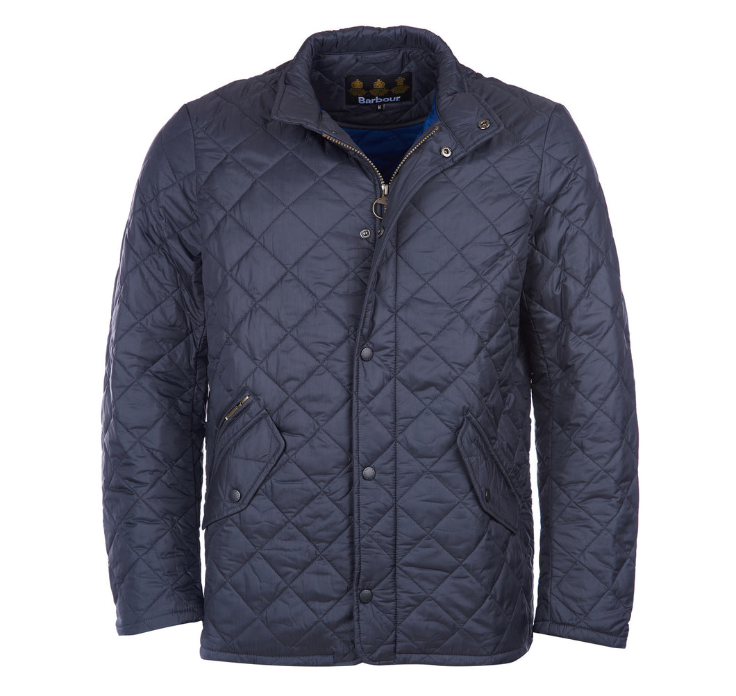 MQU0007NY92 Barbour Flyweight Chelsea Navy Quilted Men's Casual Jacket for sale online ireland