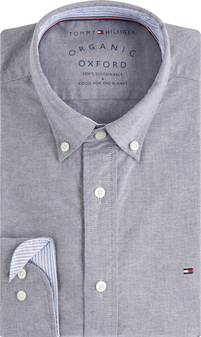 Tommy Hilfiger Mens Regular Fit Long Sleeve Shirts For Sale Online Ireland MW0MW12744