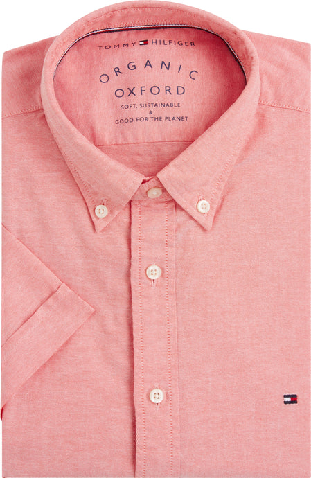 Tommy Hilfiger Mens Short Sleeve Slim Fit Shirts For Sale Online Ireland MW0MW12759