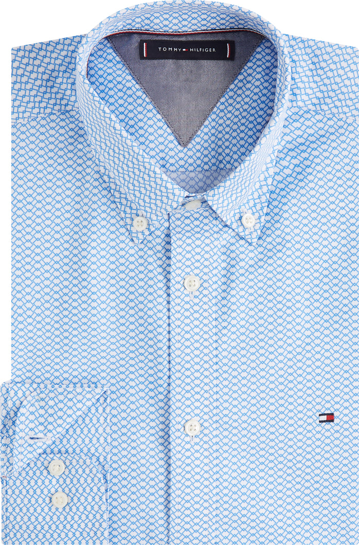 Tommy Hilfiger Mens Slim Fit Shirts For Sale Online Ireland MW0MW12811 0GY