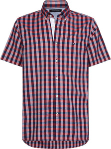 Tommy Hilfiger Mens Short Sleeve Regular Fit Shirts For Sale Online Ireland MW0MW13446