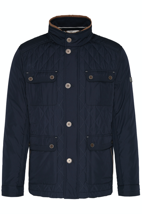 571200 59022 390 Bugatti Quilted Mens Jacket navy for sale online ireland