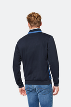 Load image into Gallery viewer, Bugatti Blue Lightweight Sweatshirt Jacket