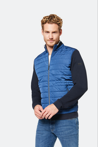 Bugatti Blue Lightweight Sweatshirt Jacket